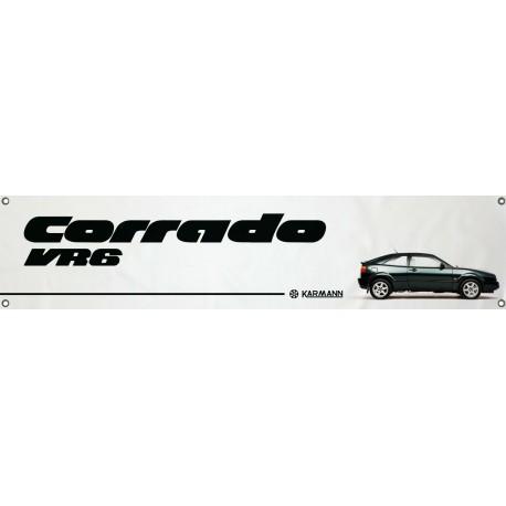 Bannière Logo VW Corrado VR6