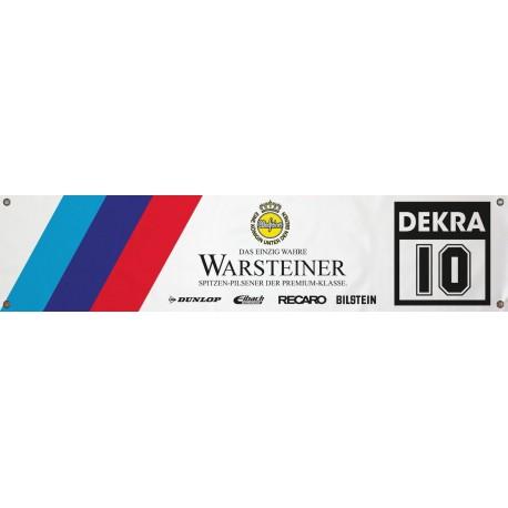 Bannière Bmw Warsteiner 1300mm x 300mm