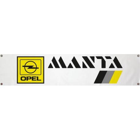 Bannière Opel Manta 1300mm x 300mm
