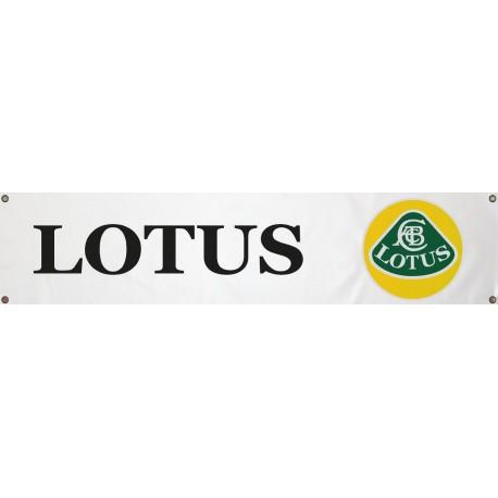 Bannière Lotus 1300mm x 300mm