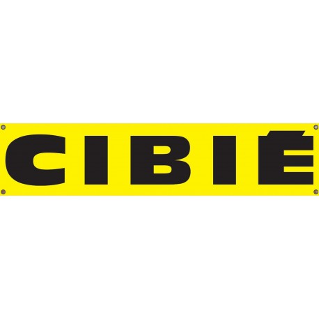 Bannière Cibié PVC