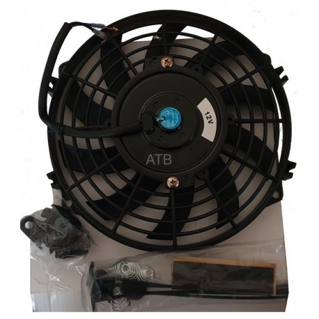 Kit Ventilateur Extra Plat 250mm Type Spal Haute Performance 100W