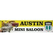 Bannière PVC Austin Mini Saloon