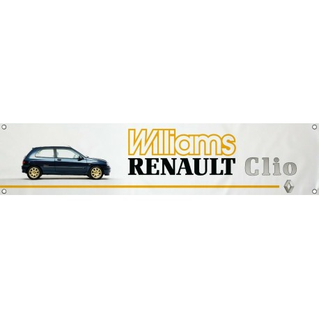 Bannière Renault Clio Williams 2.0