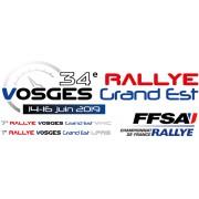 Rallye Vosges Grand Est 14-16 Juin 2019